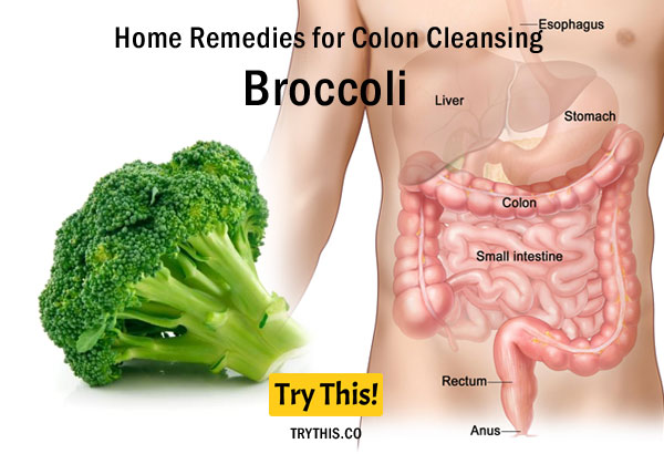 Broccoli as a Home Remedies for Colon Cleansing