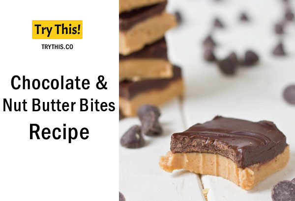 Chocolate and Nut Butter Bites