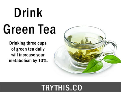 Boost Your Metabolism by Drinking Green Tea