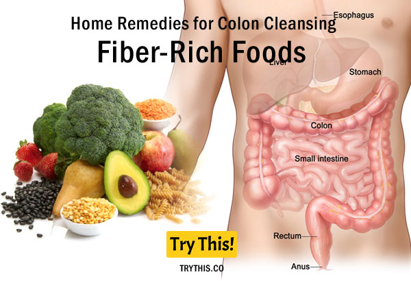 Fiber-Rich Foods as a Home Remedies for Colon Cleansing