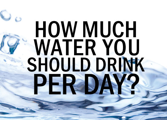 Ounces Of Water Drink Per Day