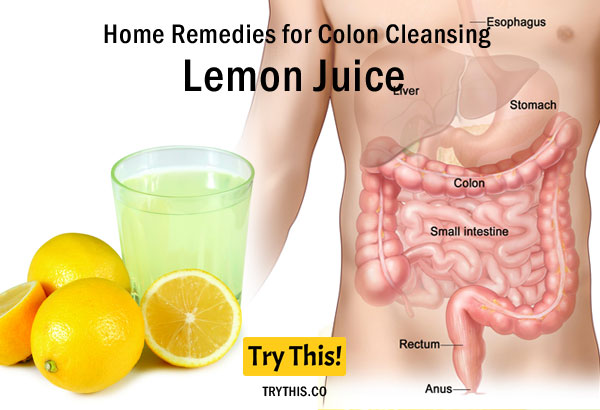 Lemon Juice as a Home Remedies for Colon Cleansing