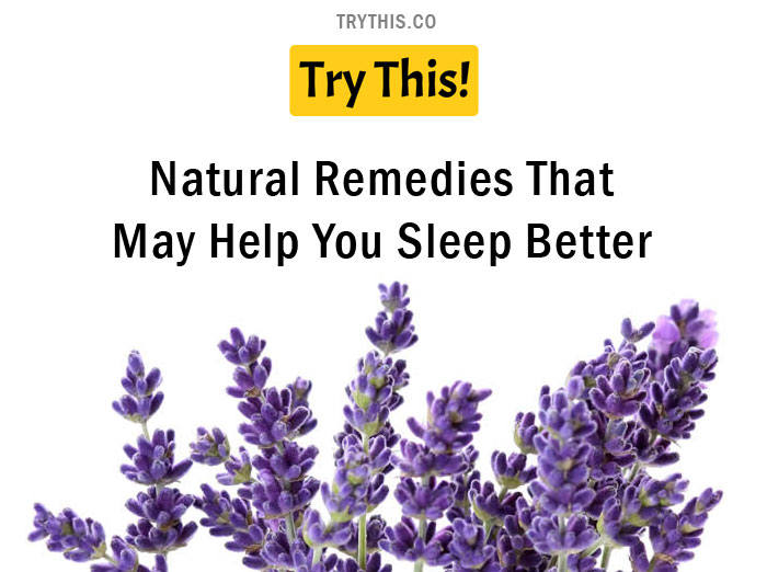 Natural Remedies That May Help You Sleep Better
