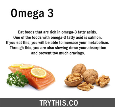 Boost Your Metabolism BY Eating Omega 3 Fats Rich Foods