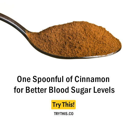 One Spoonful of Cinnamon for Better Blood Sugar Levels