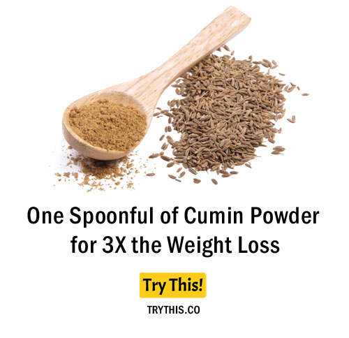 One Spoonful of Cumin Powder for 3X the Weight Loss