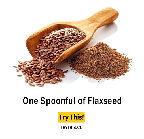 One Spoonful of Flaxseed