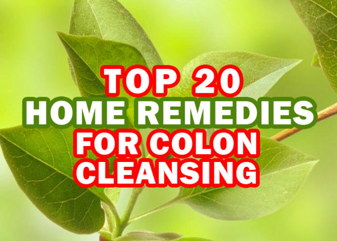 Top 20 Home Remedies for Colon Cleansing