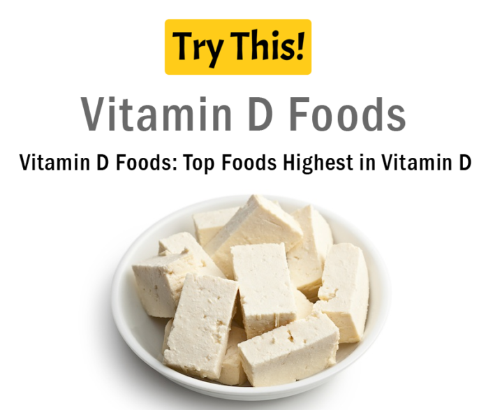 What Food Are High In Vitamin D