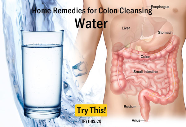 Water as a Home Remedies for Colon Cleansing