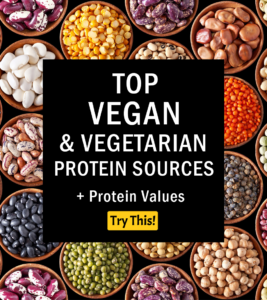 Vegan Protein: Top Vegan & Vegetarian Protein Sources