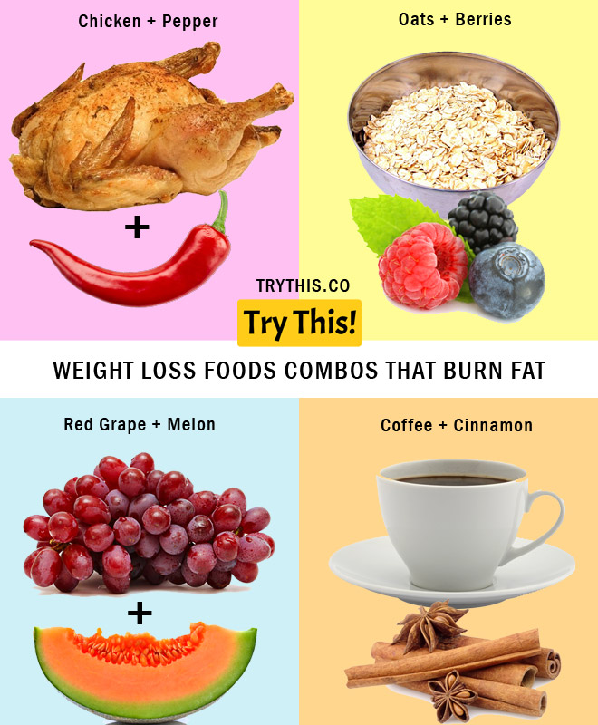 Weight Loss Foods Combinations That Burn Fat