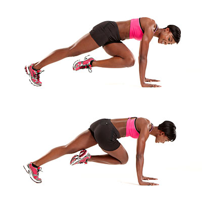 Climber as a Fat Burning Exercise