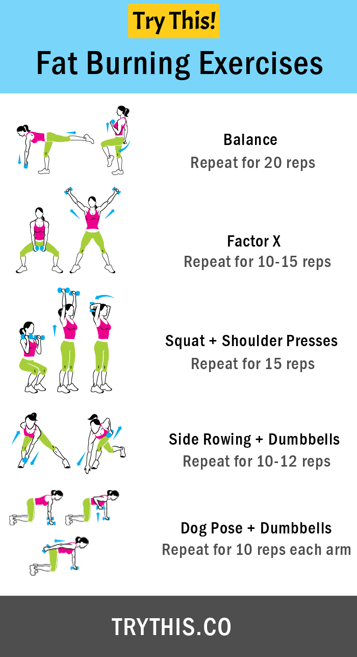 Fat Burning Exercises: Burn More Fat in Less Time - Health ...
