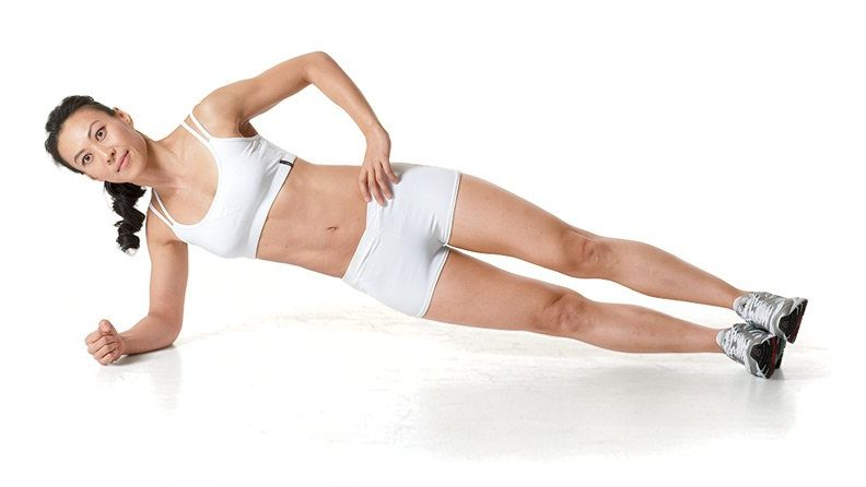 Side Plank as a Fat Burning Exercise