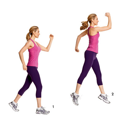 Stride Jump as a Fat Burning Exercise