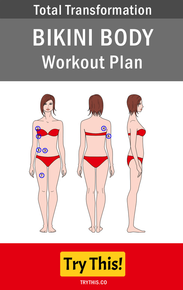 Total Transformation: Bikini Body Workout Plan - Health Tips - Try This!