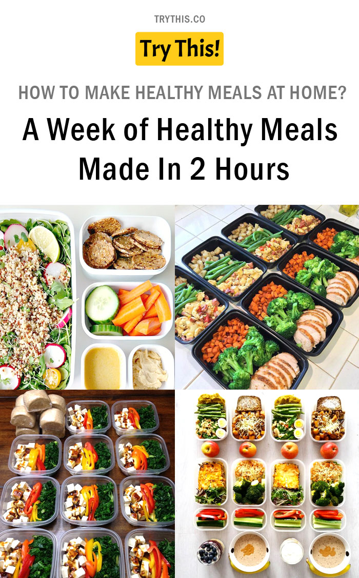How To Make Healthy Meals at Home?