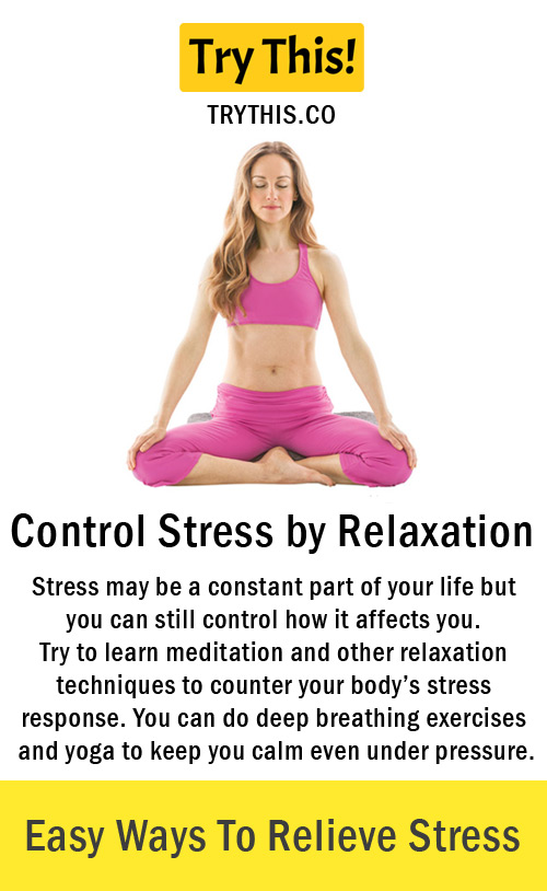 Control Stress by Relaxation