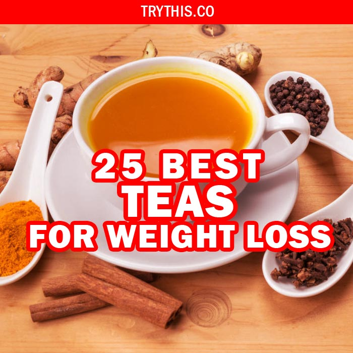 25 Best Teas for Weight Loss
