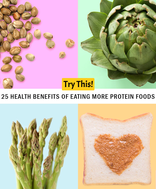 25 Health Benefits of Protein Foods