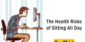 The Health Risks of Sitting All Day