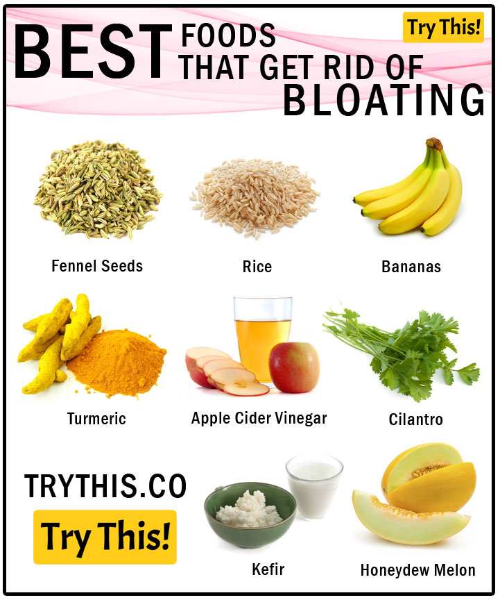 Best Foods That Will Help You Get Rid of Bloating