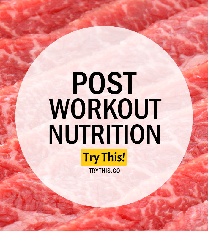 Post Workout Nutrition – What Does It Mean?