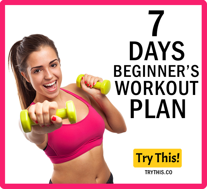 7 Days Beginners Workout Plan