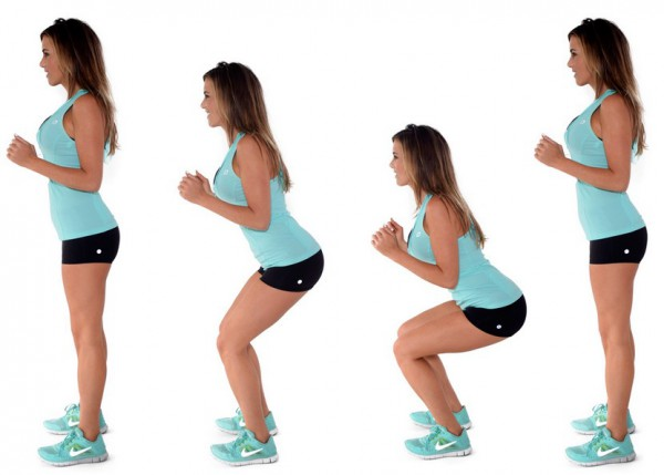 Bodyweight Squat - 7 Days Beginner's Workout Plan