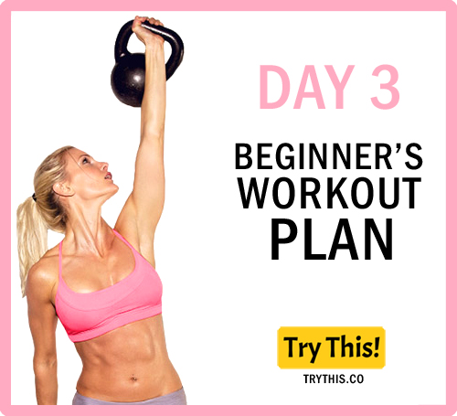 7 Days Beginner's Workout Plan - Day 3