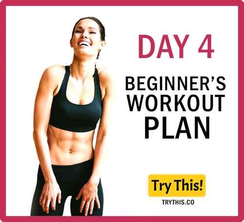 7 Days Beginner's Workout Plan - Day 4