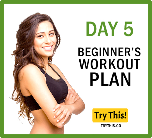 7 Days Beginner's Workout Plan - Day 5