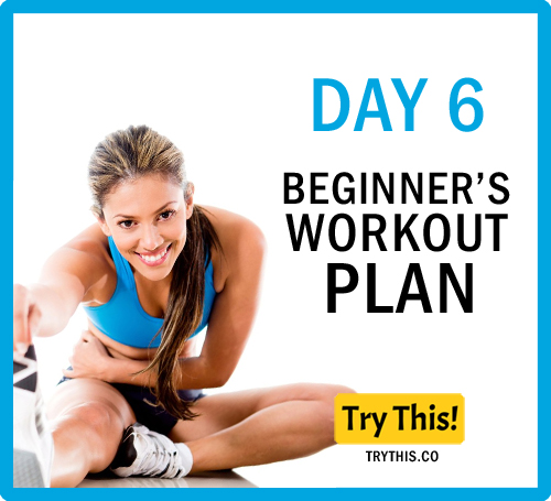 7 Days Beginner's Workout Plan - Day 6