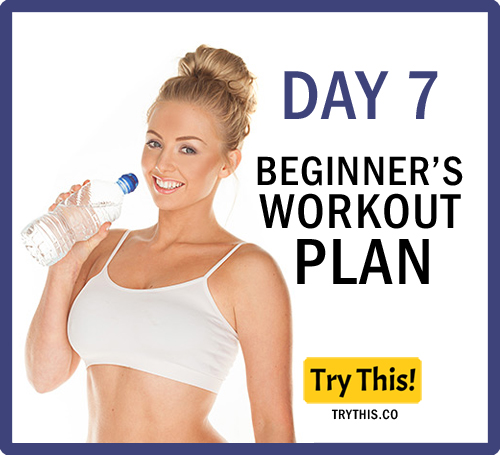 7 Days Beginner's Workout Plan - Day 7