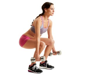 Dumbbell Squat - 7 Days Beginner's Workout Plan