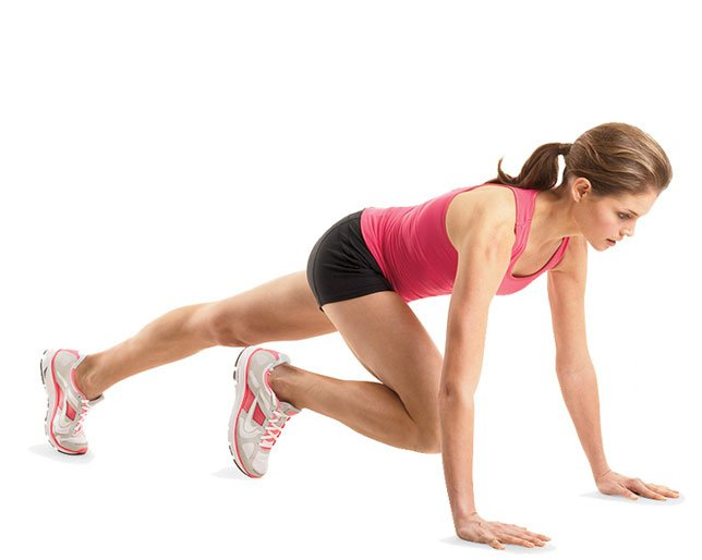 Mountain Climbers - 7 Days Beginner's Workout Plan