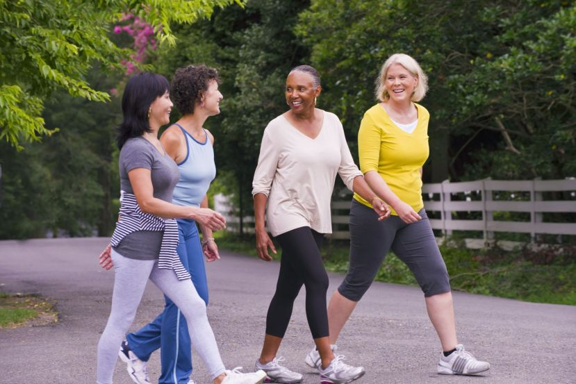 Walking Strengthens Muscle