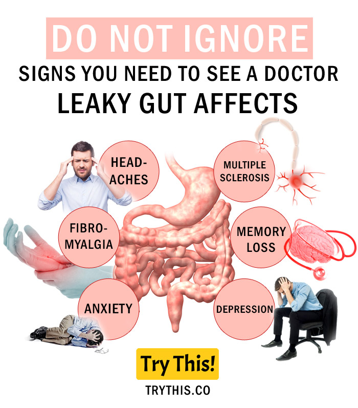 How to Cure Leaky Gut Syndrome with Diet - Leaky Gut Sings and Affects