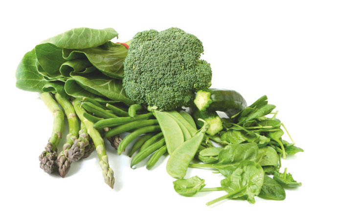 Dark Leafy Green Vegetables as a Anti-Inflammatory Food