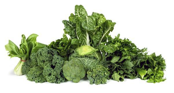 Green Leafy Vegetables as a Anti-Inflammatory Food
