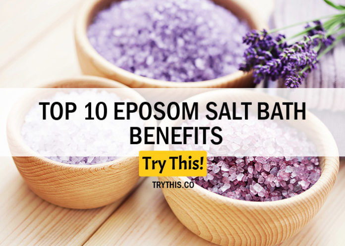 Top 10 Epsom Salt Bath Benefits