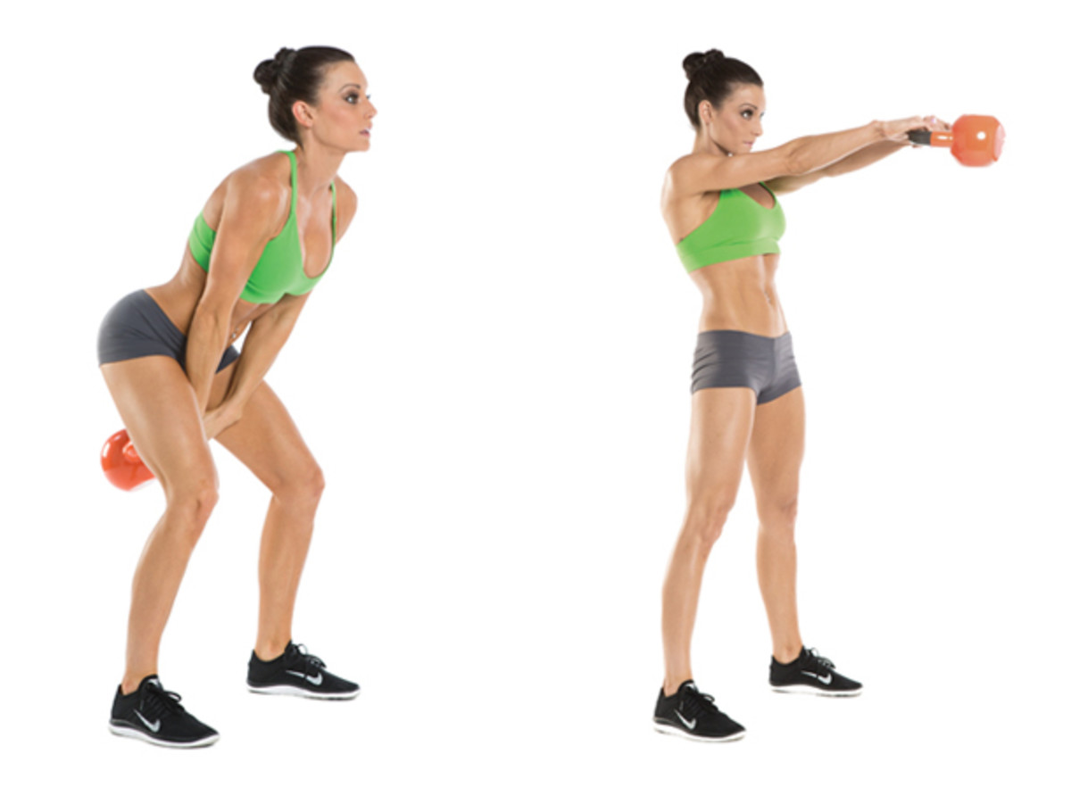 Top 10 Fat Burning Cardio Exercises - Kettlebell Swing
