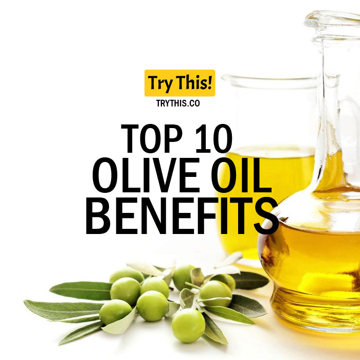 Top 10 Olive Oil Benefits