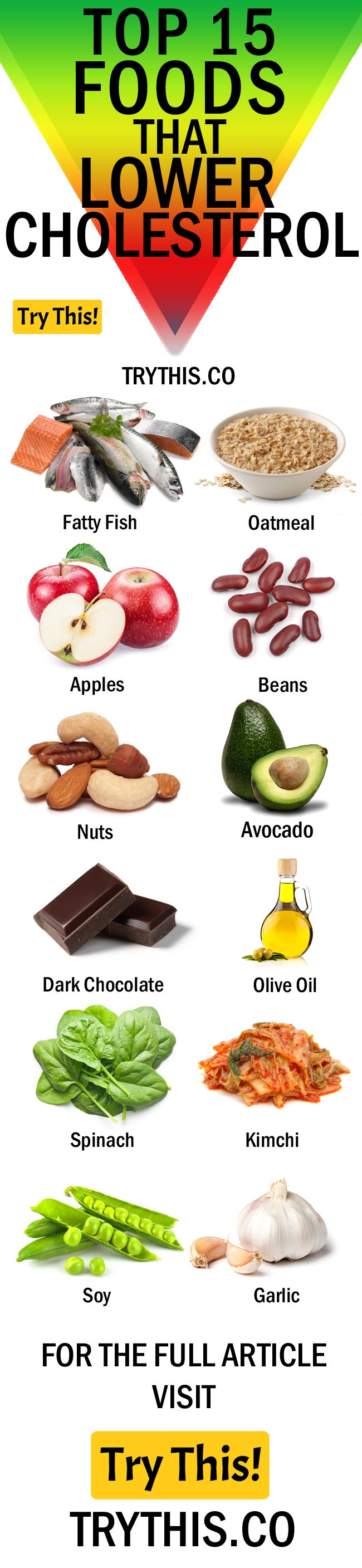 Top 15 Foods That Lower Cholesterol