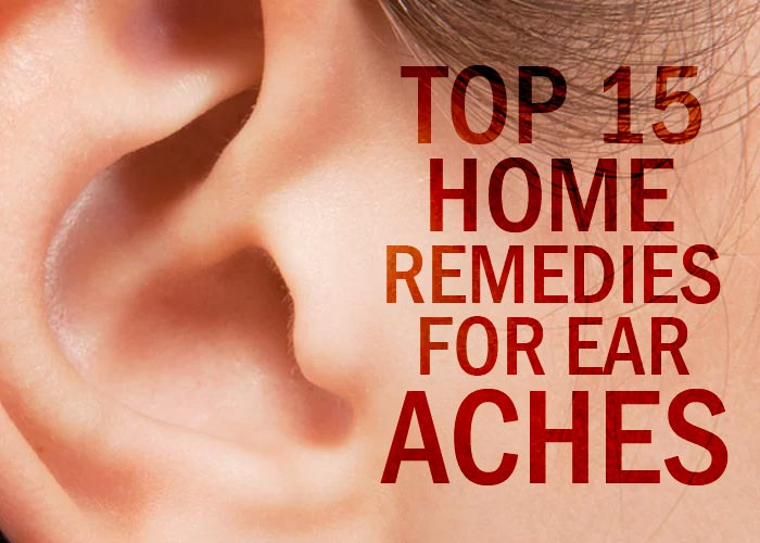 Mix Top 15 Home Remedies For Ear Aches