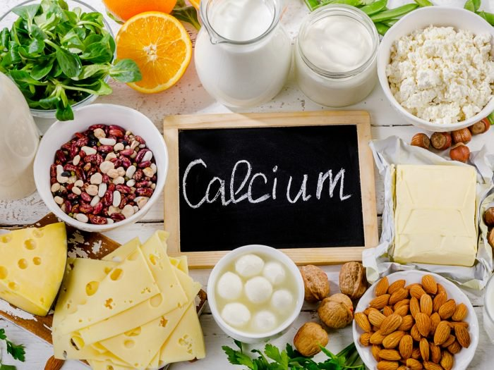 Increase Intake of Calcium and Magnesium