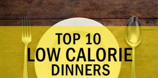 Top 10 Low Calorie Dinners