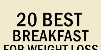 20 Best Breakfast for Weight Loss
