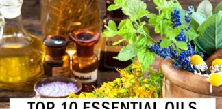 Top 10 Essential Oils for Pain Relief